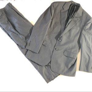 34 R Pant 40 R Jacket Ralph Lauren Dark Gray Suit